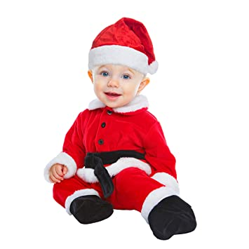 My Other Me Me-203981 Disfraz Papa Noel para niño, 7-12 meses ...