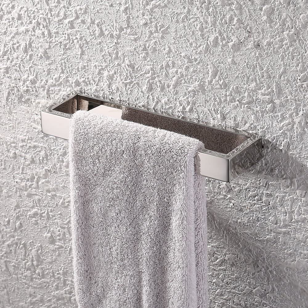 Kes SUS 304 Stainless Steel Bath Towel Holder Hand Towel Ring Contemporary Style Wall Mount A23080-2 Brushed Finish