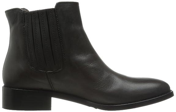 Bella Vita Women's LIV Italy Chelsea Boot, Dark Brown Leather, 5 M US