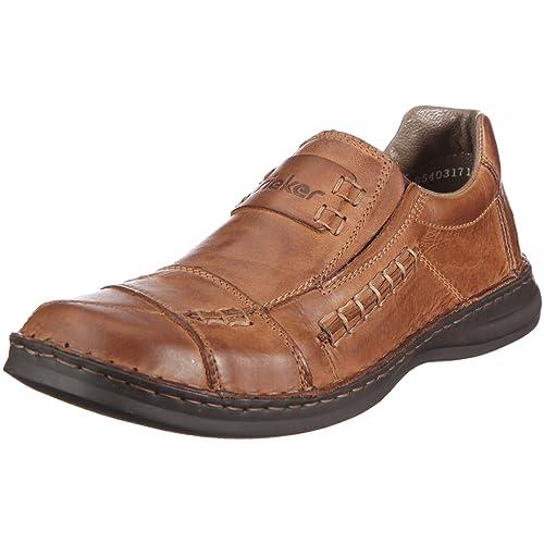 Rieker Armin, Mocasines para Hombre, Marrón, 43 EU: Amazon.es: Zapatos y complementos