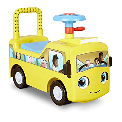 Little Tikes Little Baby Bum Wheels On The Bus Scoot & Push Ride On: Toys & Games
