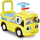 Little Tikes Little Baby Bum Wheels On The Bus Scoot & Push Ride   Walk Ride and Play With Music   Educational Learning…