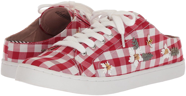 Betsey Johnson Women's Edna US|Red Sneaker B076XNS7FZ 8.5 B(M) US|Red Edna Gingham ae79ec