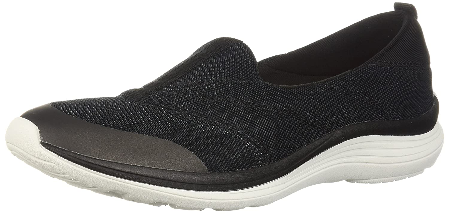 Easy Spirit Women's Glassy2 Sneaker B077Y6GMNL 7.5 B(M) US|Black