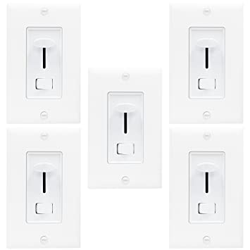 enerlites 59302 three way universal dimmer switch for 150w led cfl incandescent