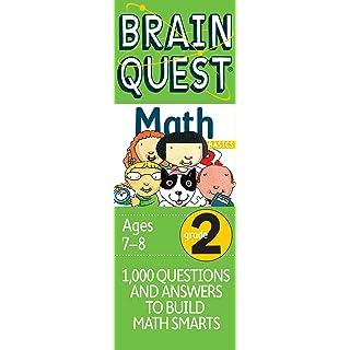 Brain Quest Grade 2 Math (Brain Quest Decks)
