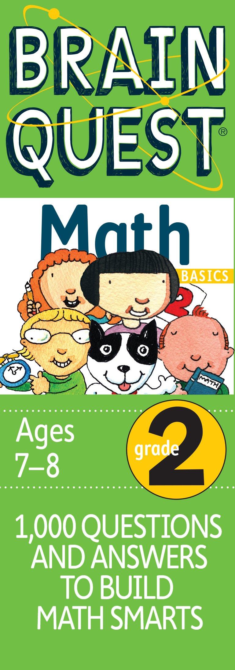 Brain Quest Grade 2 Math Cards – May 10 2006 Marjorie Martinelli Workman Publishing Company 0761141367 Mathematics - General
