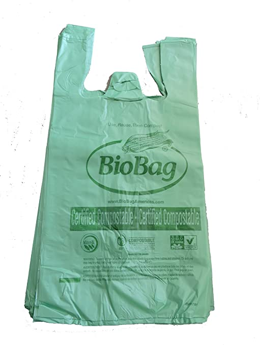 BioBag Bolsas biodegradables – Bolsas compostables, tamaño Regular ...