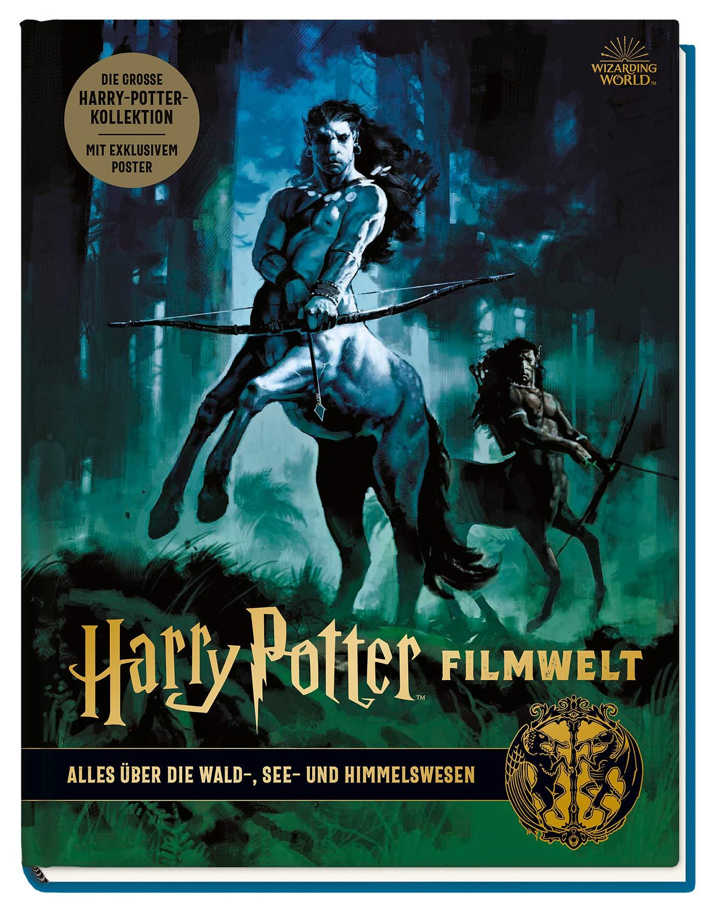 Harry Potter Filmwelt Bd 1 Alles Uber Die Wald See Und Himmelswesen Revenson Jody 9783833238130 Amazon Com Books