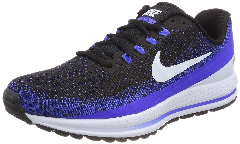 Nike Men's Air Zoom Vomero 13 Running Shoe B077QHSJ82 7.5 D(M) US|Black/Blue/Tint/Racer/Blue