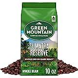 Green Mountain Coffee Roasters Sumatra Reserve, Whole Bean Coffee, Dark Roast, Bagged 10 oz