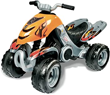 1b6dfd69e0d0 Smoby 33522 Electronic Racing Quad X-Power  Amazon.co.uk  Toys   Games