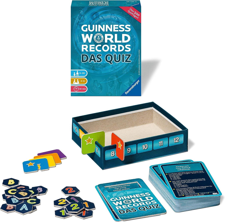 Guiness World Records - Das Quiz: Das rekordverdächtige Quizspiel! , color/modelo surtido: Amazon.es: Juguetes y juegos