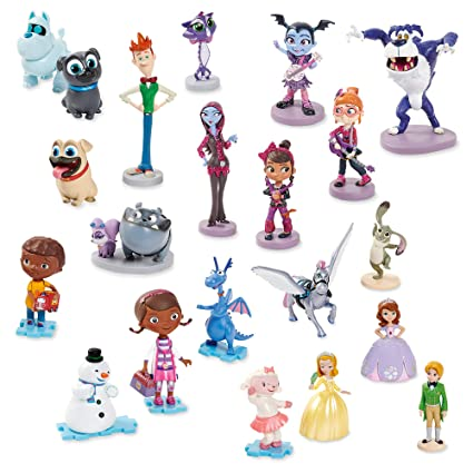 Amazon.com: Disney Junior Mega - Figura decorativa sin color ...