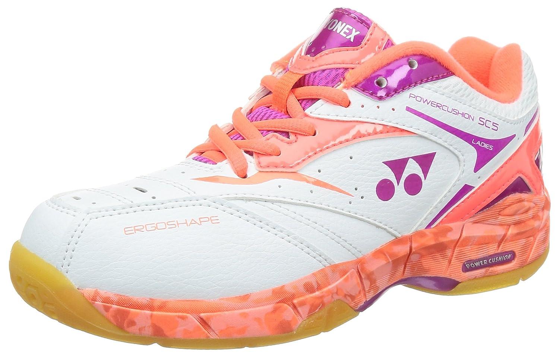Yonex - Zapatillas de squash y bádminton para mujer blanco SHBSC5LX