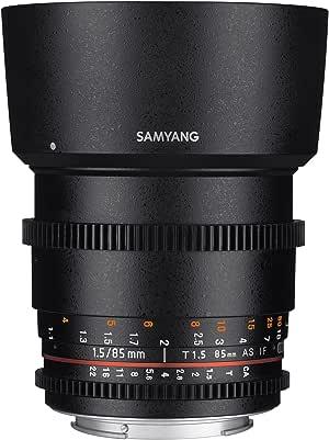 Samyang - Lente de Enfoque Manual para vídeo para cámaras réflex ...