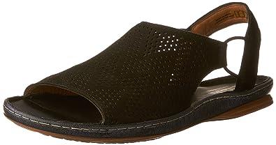 Womens Sarla Cadence Closed Toe Sandals, Black Clarks