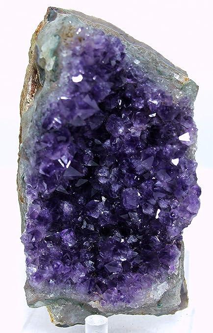 Amazon com: Mine Treasures Rich Purple Amethyst Geode Amethyst