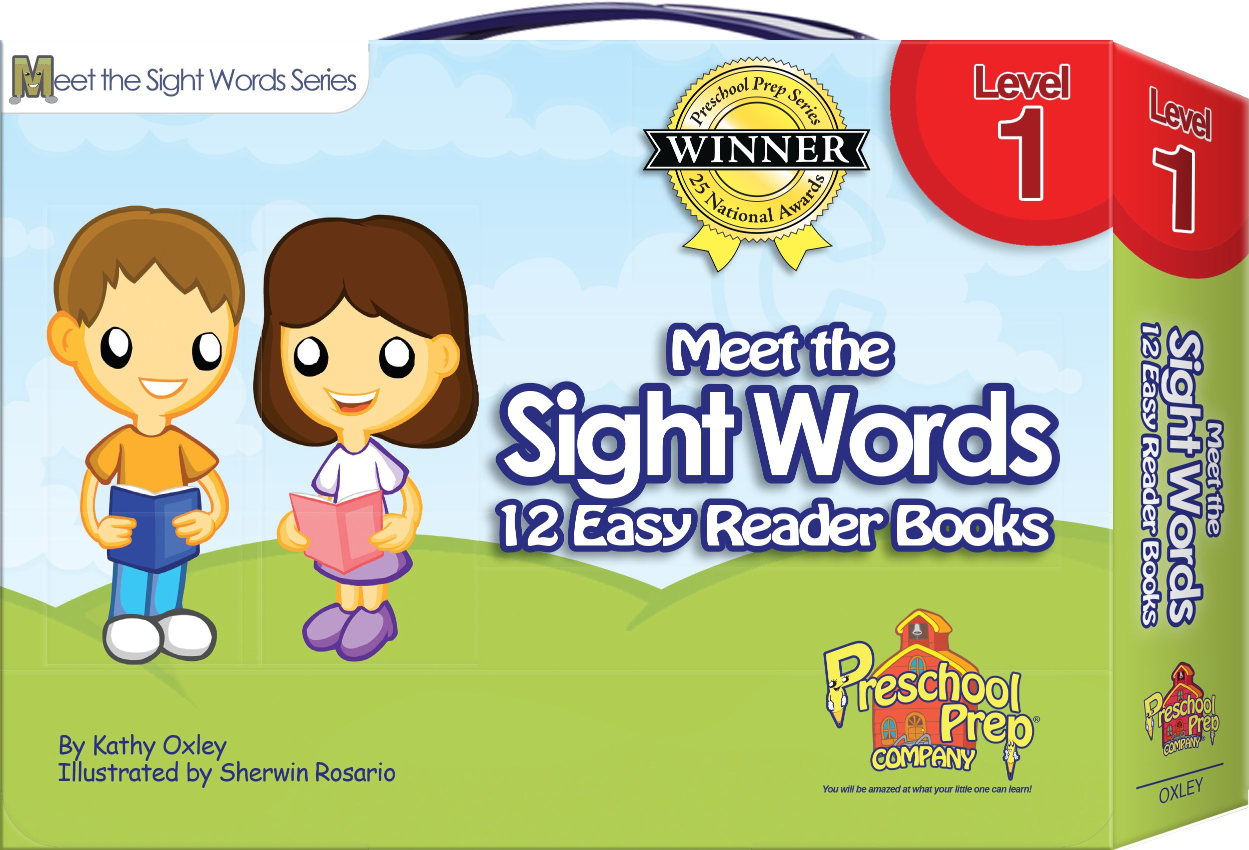 Meet the Sight Words - Level 1 - Easy Reader Books (boxed set of 12 ...