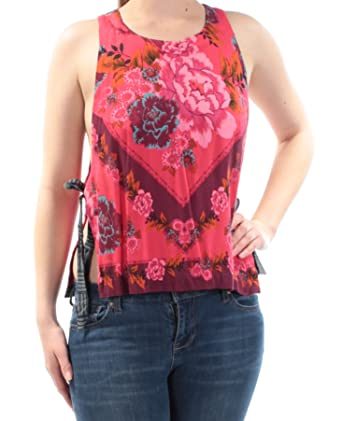 44fb19c445795 Free People New Women s This Sweet Love Top Rayon Pink at Amazon Women s  Clothing store