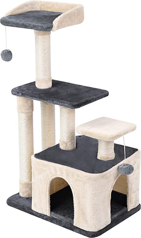 Wellhome Árboles para Gatos Rascador para Gato Escalador para ...