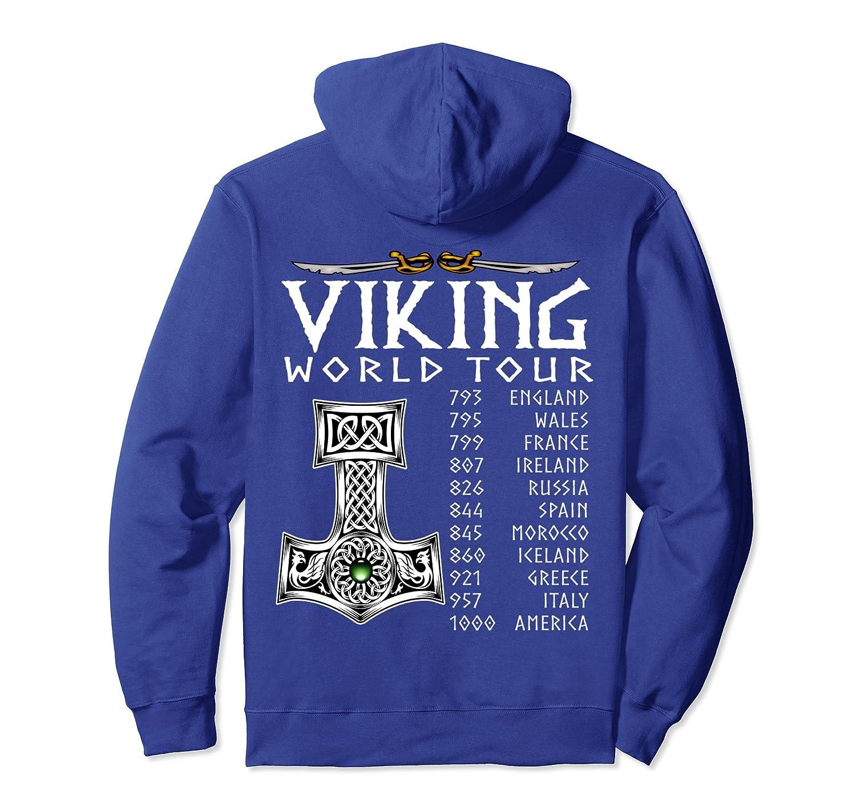 Viking World Tour - Viking pullover hoodie unisex-TH