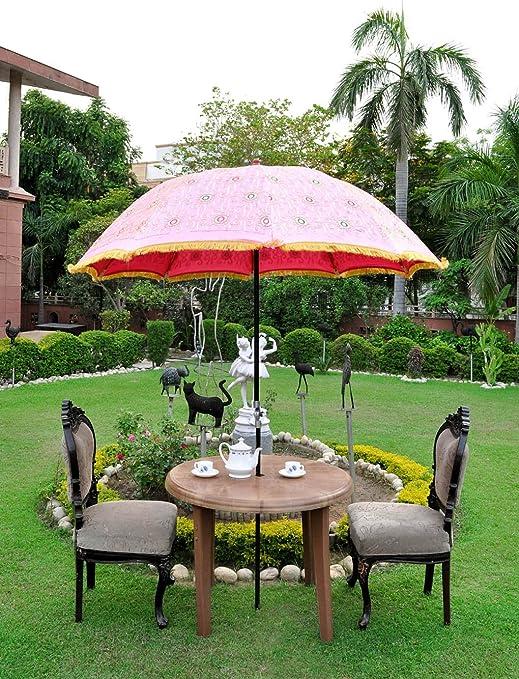 Decorativo al aire libre Paraguas Parasol Sombrilla de jardín ...
