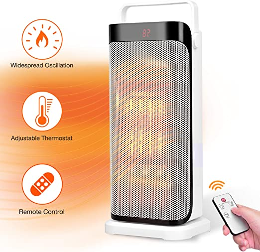 Amazon Com Space Heater With Remote Instant Warm Ceramic Tower