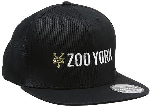 95101b562 Zoo York Men's Logo Baseball Cap, Black, One Size: Amazon.co.uk ...