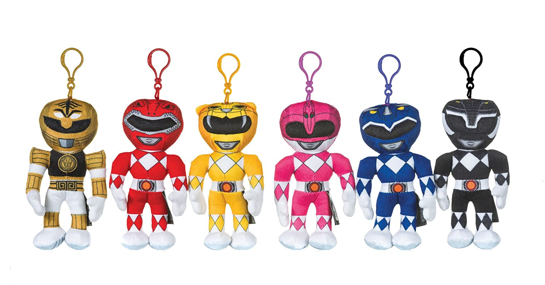 Power Rangers - Llavero con clip de bolsa, color rosa ...