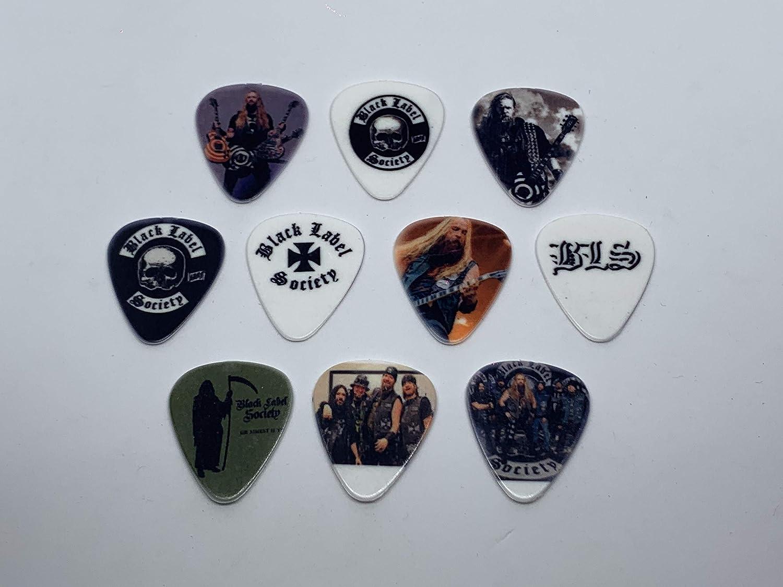 10 picks//10 diferent designs BLACK LABEL SOCIETY Guitar Picks Set