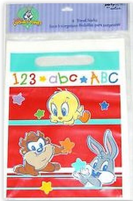 Amazon.com: Baby Looney Tunes Favor Bolsas Cumpleaños Tweety ...