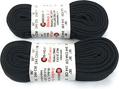 Poly Hockey Athletic Laces 2 Pair Pack