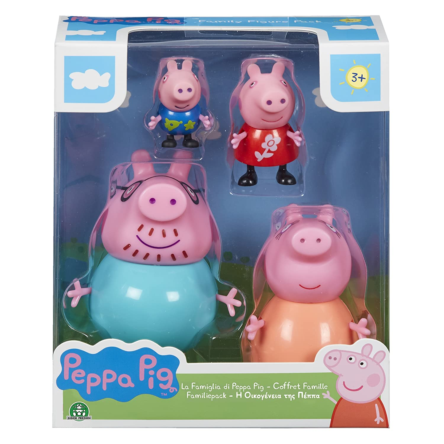 Coffret Peppa Coffret Pig Pig Peppa Famille4 FigurinesPpc27MulticoloreAmazon DeE9HWY2Ib