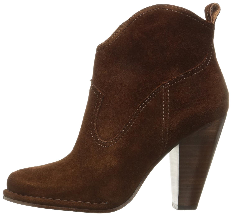 FRYE Women's Madeline Short Suede Boot B01A2SKWDE 8 B(M) US Brown