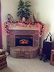 amazon com dimplex dfi2310 electric fireplace deluxe 23 Fire Christmas Fireplace real fire fireplaces inverness