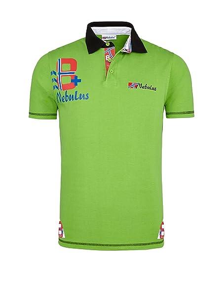 Nebulus Polo Tore Verde Chiaro M  Amazon.it  Abbigliamento bc18537747b