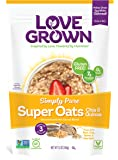 Love Grown Foods Super Oats, Simply Pure, 12 Ounce