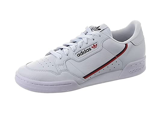 cb537c219b Adidas Continental 80, Scarpe da Fitness Uomo, Blu (Aeroaz/Escarl/Maruni
