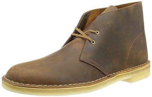 4a637526c2 Clarks - Desert Boot, Stivali da Uomo, Giallo (Beeswax), 42,