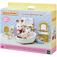 Sylvanian Families 5286 Country Bathroom Set, Beige
