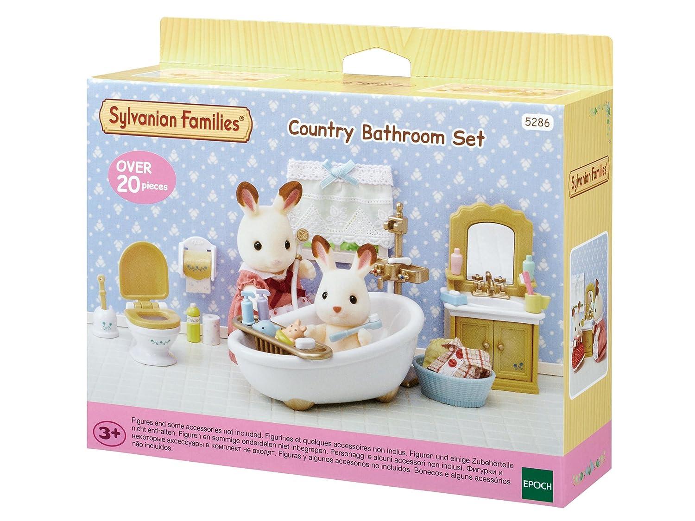 Amazon.es: SYLVANIAN FAMILIES Set Baño Country Epoch 5286: Juguetes y juegos
