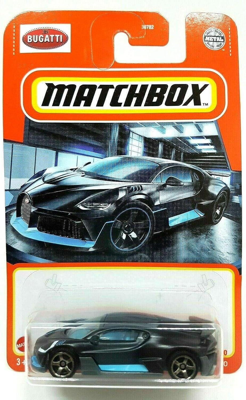 Hot Wheels HW EXOTICS  7//10 /'16 BUGATTI CHIRON BLUE INTERNATIONAL CARD BAD CARD
