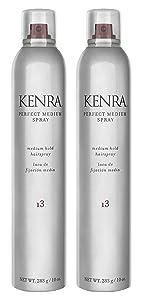 Kenra Perfect Medium Spray 55% VOC, 10-Ounce, 2 Count