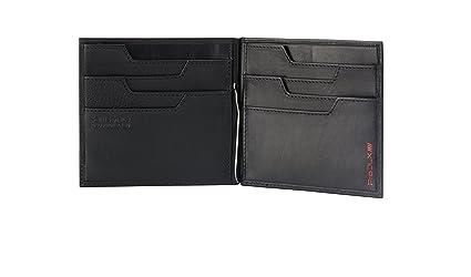Samsonite Prod-DLX 4s RFID Billfold 8cc+2comp 8cc Holder+Money Clip Monedero, 14 cm, Negro