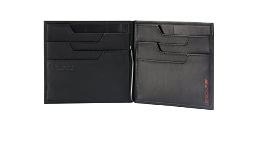 Samsonite Prod-DLX 4s RFID Billfold 8cc+2comp 8cc Holder+Money Clip Monedero, 14 cm, Negro