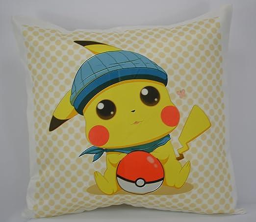 Limited Go Team de Pokemon Pikachu Cojín Throw Cojín Pad no ...