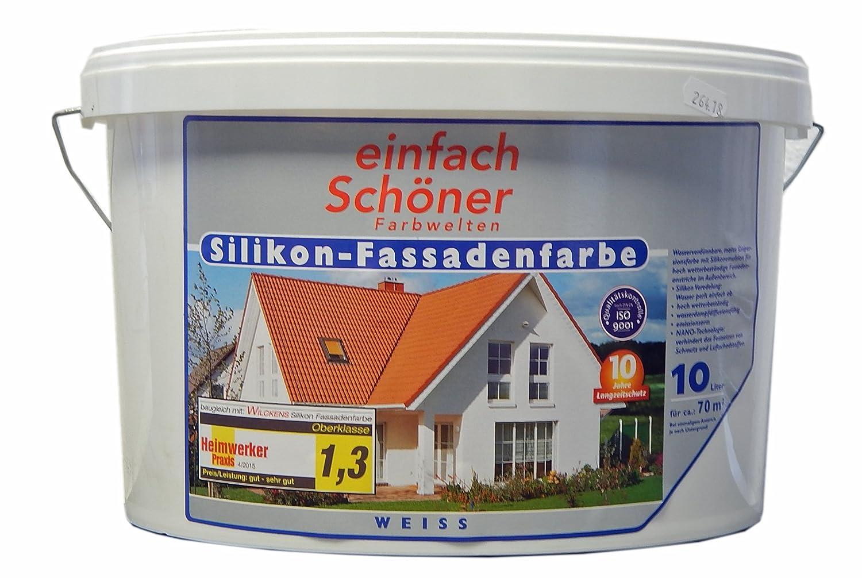 Super einfach Schöner Silikon - Fassadenfarbe 10000 ml: Amazon.de: Küche RC71
