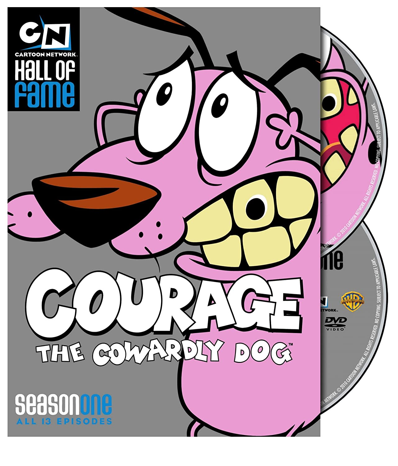 Amazon Com Courage The Cowardly Dog Season 1 Cartoon Network Hall Of Fame Thea White Marty Grabstein Simon Prebble Lionel G Wilson Billie Lou Watt Paul