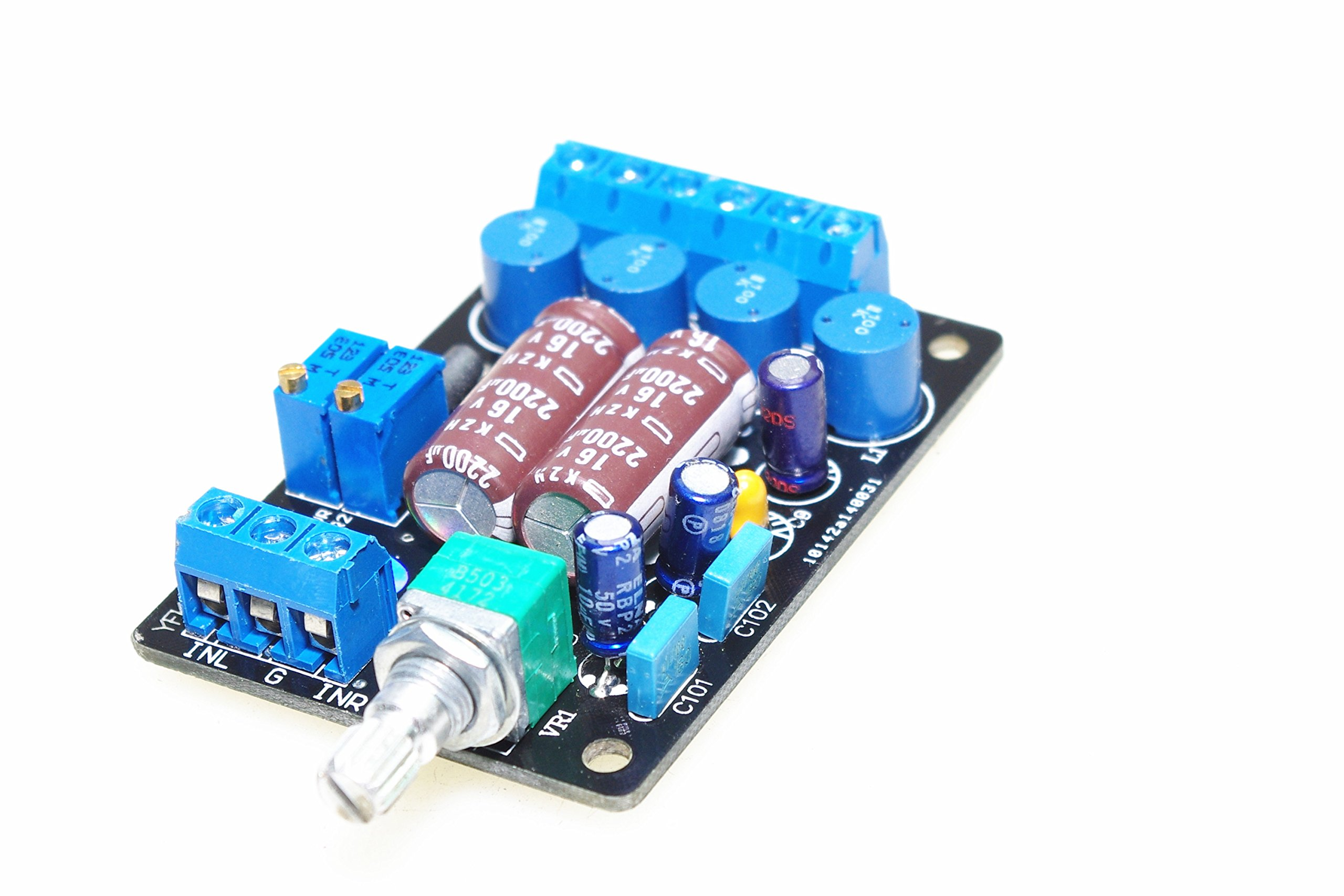 SMAKN® Mini TA2024 Computer PC Digital Stereo Amplifier Board DC 12V/3A Power Audio Amp DIY